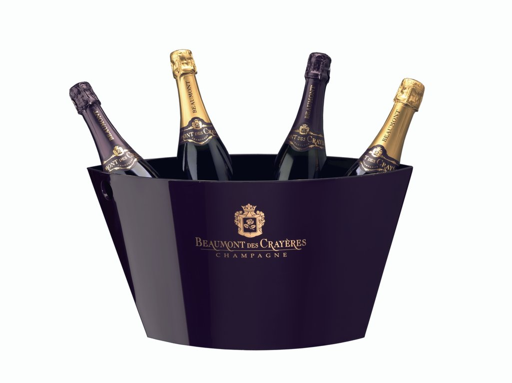 Big Ice bowl Champagne Beaumont des Crayeres