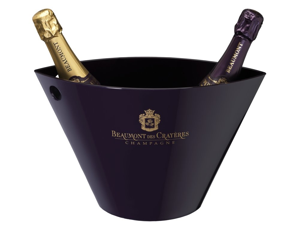 Ice bucket Champagne Beaumont des Crayeres