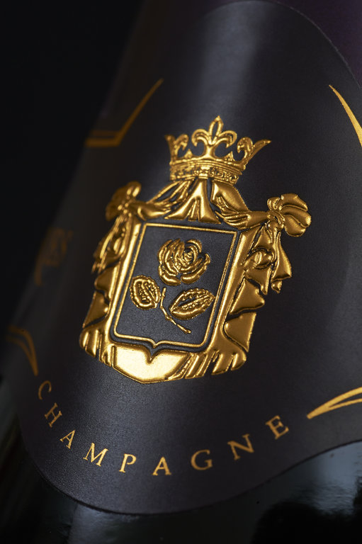 Champagne Beaumont des Crayeres' coat of arms